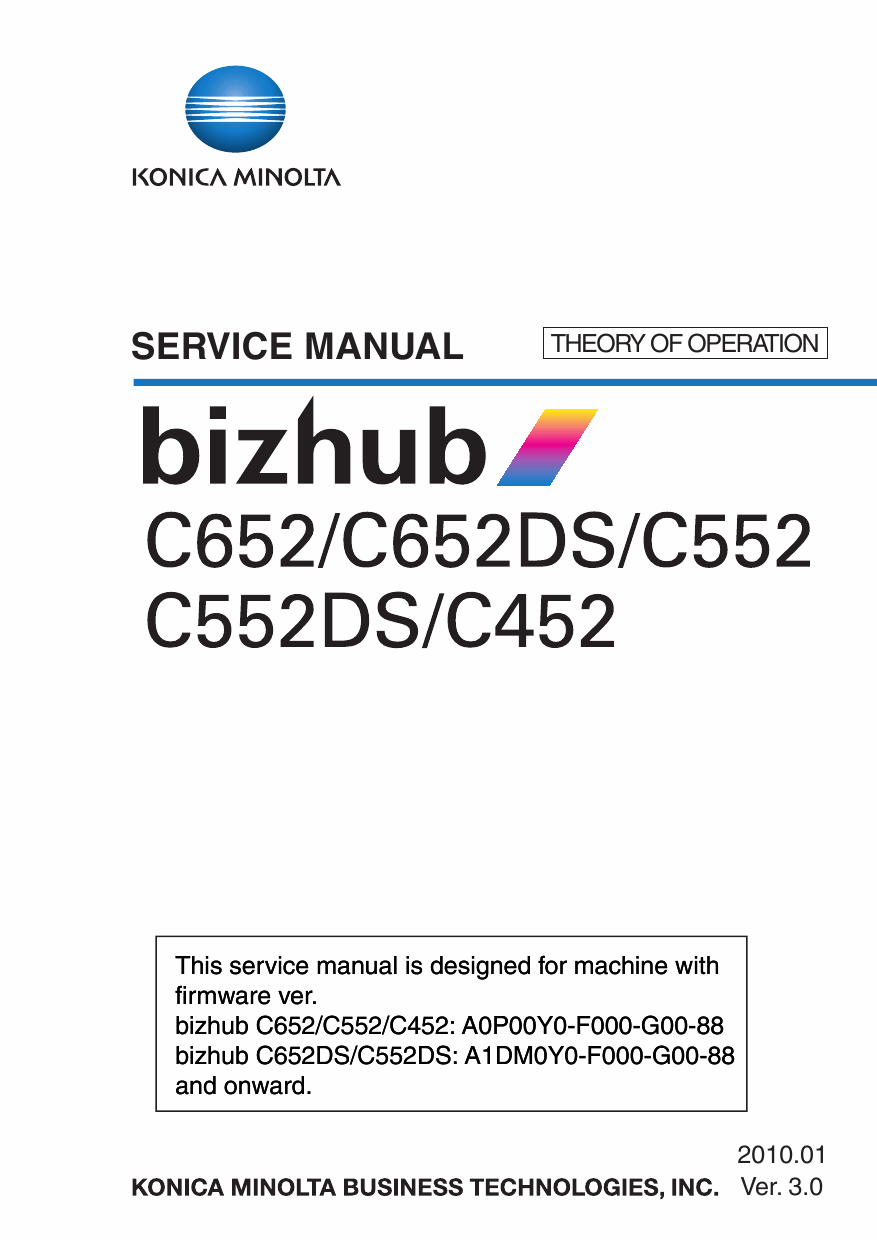 Konica-Minolta bizhub C452 C552 C552DS C652 C652DS THEORY-OPERATION Service Manual-1